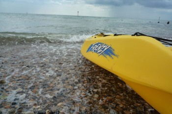 KayakOnMiddletonBeach